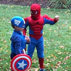 Superhero Parenting:  80 years strong.
